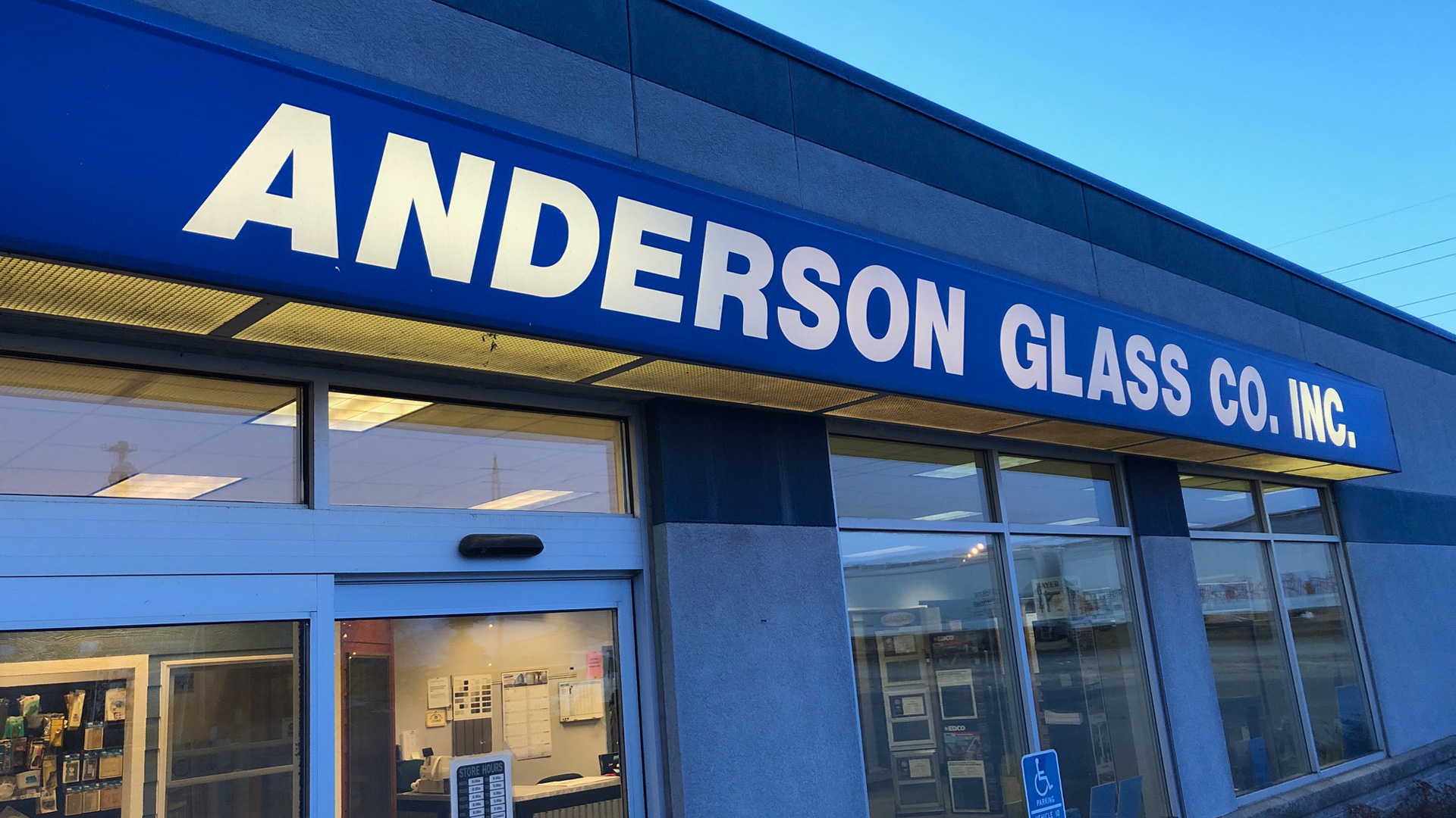 Anderson Glass Company